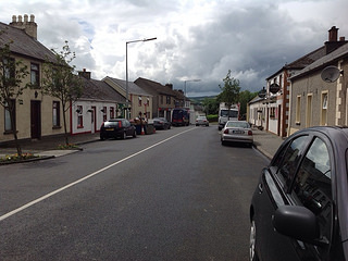 Modern day street at Carrigans.